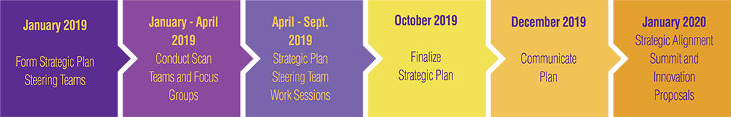 Strategic Plan Timeline