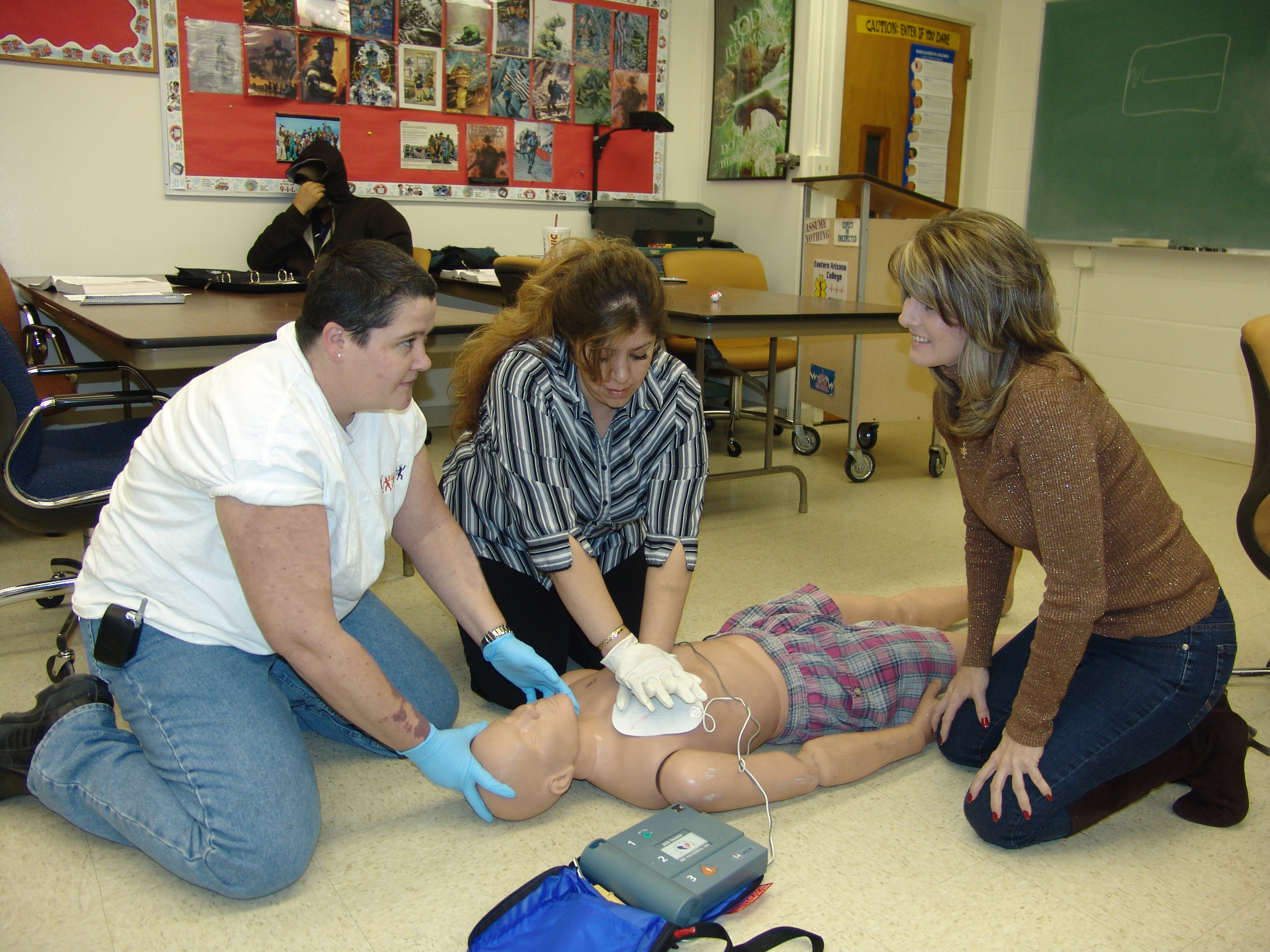 News Releases Details - Free CPR training at EAC next Saturday